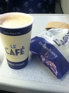 Latte at Delice de France