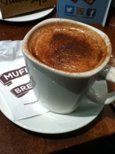 Soy Mocha at Muffin Break