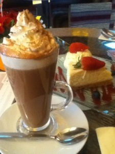 Mocha at Cafe Italia