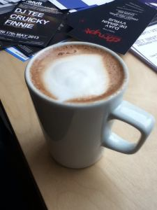 Mocha at Cafe Contour