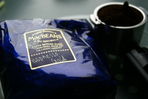 Espresso Gold from MacBeans Coffee & Tea