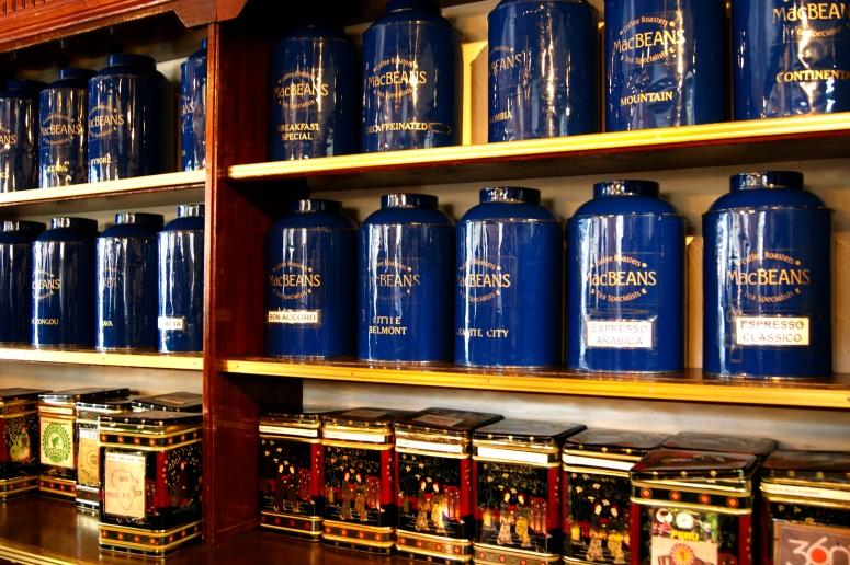 MacBeans Coffee Shelf