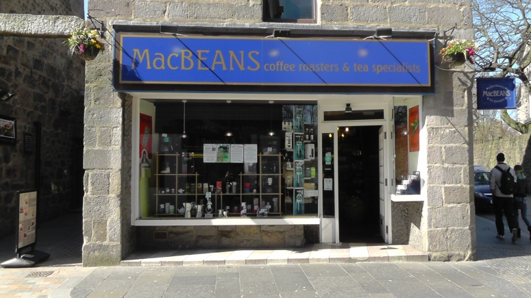MacBeans moved location only once in the 24 years of existence - across the road on Little Belmont Street