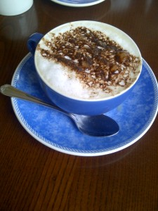 Cappucino at The Victoria Restaurant