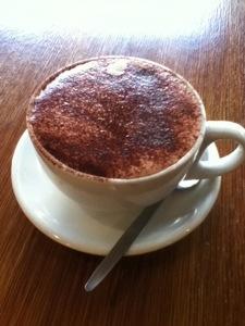 Medium Mocha at Mojo Coffee and Food House