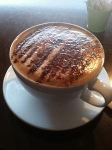 Soy Mocha at Caffe Crema