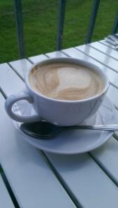 Mocha at Big Moon Coffee House