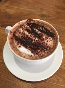 Mocha at Parx Cafe