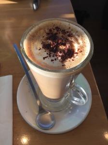 Mocha at Pavilion Cafe